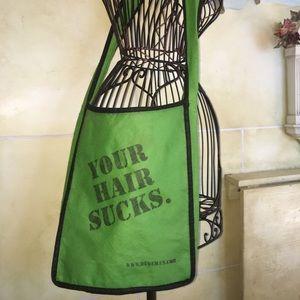 "Handbags - ""Your Hair Sucks"" messenger bag for hairstylist"